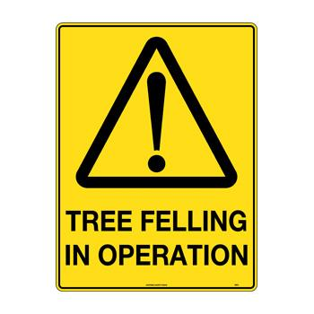 Tree Felling In Operation