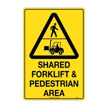 Shared Forklift & Pedestian Area