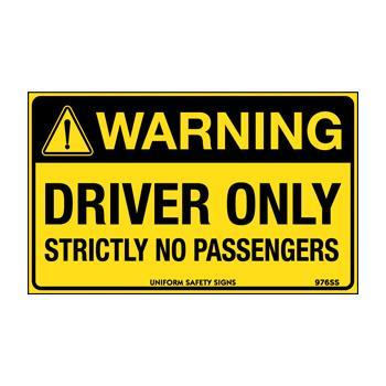 Driver Only