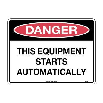 This Equipment Starts Automatically