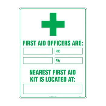 First Aid Officers Are