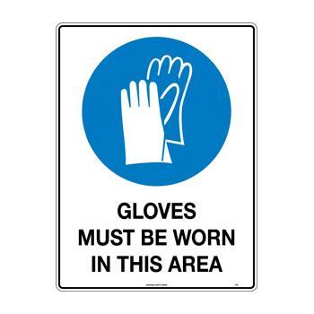 Gloves Must Be Worn