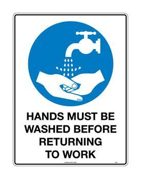 Hands Must Be Washed