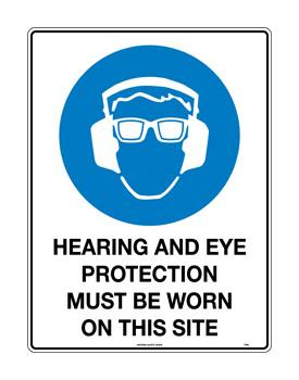 Hearing and Eye Protection on this Site